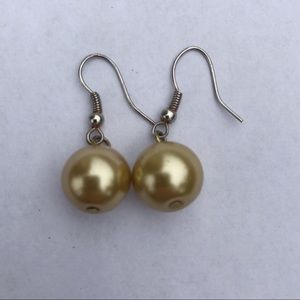 Jewelry - Champagne Sphere Earrings